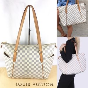 ⭐️RARE DISCONTINUED🌟ZIPPERED louis vuitton TOTE